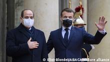 Frankreich Paris | Treffen | Macron und al-Sisi