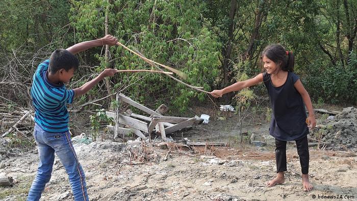 Bangladesch Rohingya Geflüchtete Umsiedlung Insel Bhasan Char