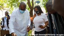 Afrika Ghana Präsidentschaftswahlen John Dramani Mahama