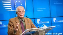 Belgien Brüssel Josep Borrell EU