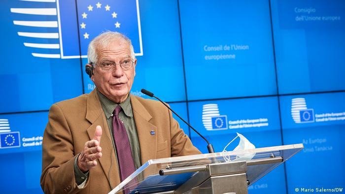 Avrupa Birliği Dış İlişkiler ve Güvenlik Politikası Yüksek Temsilcisi Josep Borrell