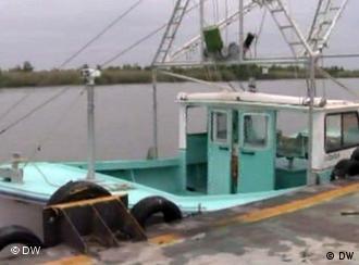 Müssen sich von ihren Netzen verabschieden: die Fischer im Mississippi-Delta