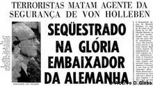 Brasilien Geschichte | Titelseite O Globo Zeitung