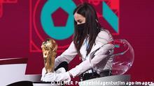 Schweiz Zürich |Auslosung Fußball-WM in Katar