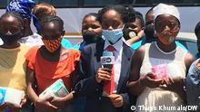 20.11.2020 GirlZ Off Mute -South Africa, street children, young girls via Jane Nyingi