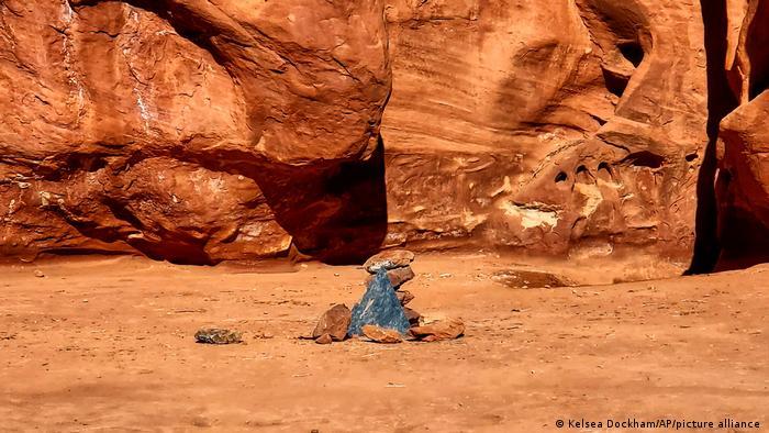USA Utah   Metall-Monolith verschwunden