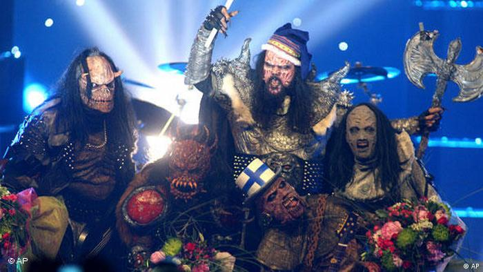 Eurovision Song Contest winner Lordi (AP)
