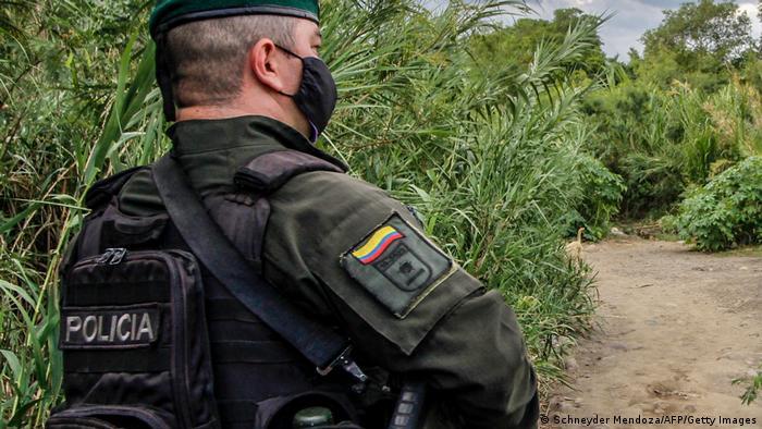 Kolumbien Polizei Symbolbild