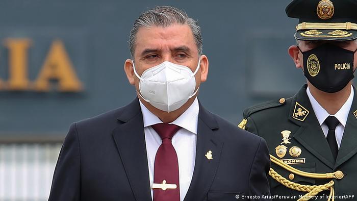 Peru Innenminister Cluber Aliaga