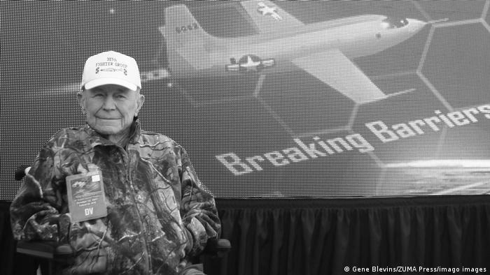 USA Fliegerveteran Chuck Yeager