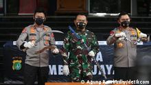 Indonesien PK zum Angriff auf die Polizei in Jakarta
