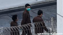 China Hong Kong Aktivist Joshua Wong Gefängnis