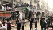 Bangladesch Proteste in in Dhaka