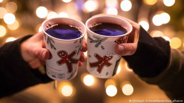 En Alemania es una tradición tomar vino caliente en épocas navideñas.