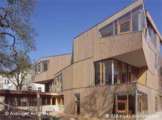 Waldorfschule in Stuttgart © Aldinger Architekten; Photo: Roland Halbe