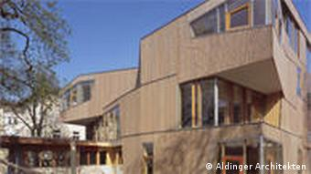 Здание вальдорфской школы в Штутгарте