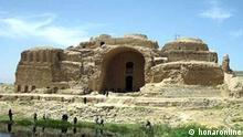 Iran Ardeshir Babakan Schloss unter wasser