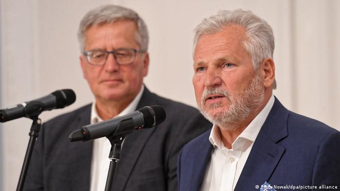 Polen Warschau | Präsidentschaftswahl | Komorowski und Kwasniewski