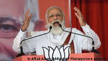 Indien Patna   Premierminister   Narendra Modi