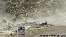 Pakistan-Iran-Grenze im Gebiet Turbat in Belutschistan