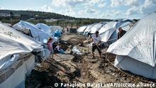 Griechenland Lesbos Moria Flüchtlingscamp Flüchtlinge