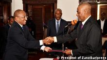 Tansania Sansibar | Politiker | Präsident Dk Hussein Ali Mwinyi