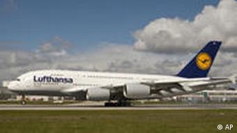 A Lufthansa A380