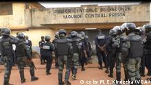 Kamerun l Gefängnis in Kondengui, Sicherheitskräfte Polizei