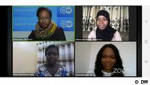 DW Sendung Screenshot l Frauenrechte - #PasSansElles