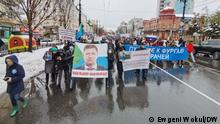 Russland Protestaktionen in Chabarowsk