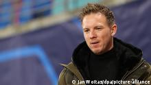 Champions League Gruppe H l RB Leipzig vs Manchester United l Trainer Nagelsmann