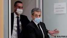 French court hears former French President Sarkozy in corruption trial