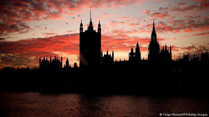 BdTD Großbritannien Sonnenuntergang in London