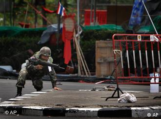 Bangkok became a battleground when the army moved in to disperse anti-government protesters in May