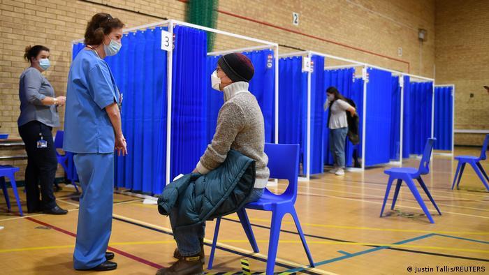 Кардіфф, вакцинація у Великобританії