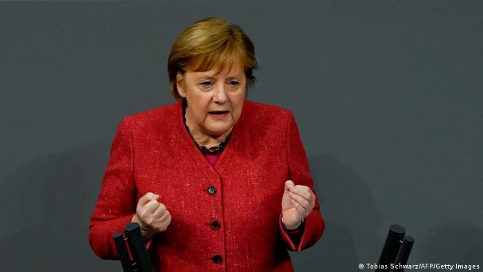Deutschland Bundestag Generaldebatte zum Bundeshaushalt