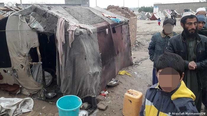 Desplazados internos en Afganistán.