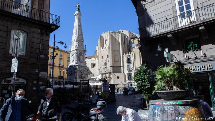 Italien Weitere Lockdown Massnahmen in der Region Kampanien und Neapel