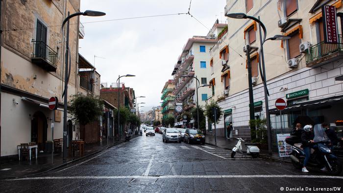 Italien Ercolano war das Epizentrum der Kämpfe der Camorra-Clans