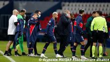 Frankreich Fußball Champions League Paris Saint Germain - Istanbul Basaksehir