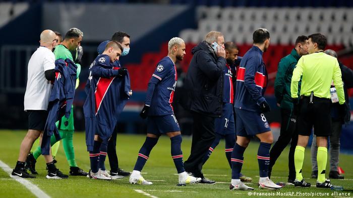 Champions League -Spiel Paris Saint Germain - Istanbul Basaksehir