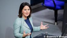 Deutschland Bundestag - Annalena Baerbock