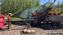 Геологічна розвідка на замовлення компанії Norge Mining