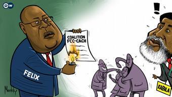 Karikatur von Meddy | DR Kongo