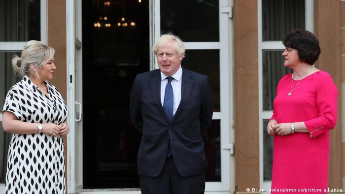 Nordirland | Boris Johnson |Besuch in Belfast