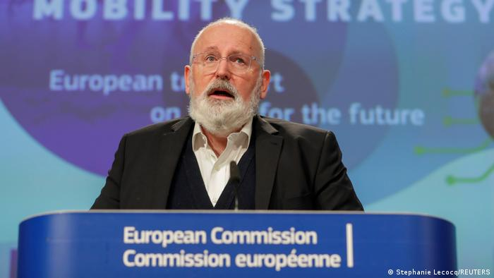 Brüssel EU-Klimapläne EU-Kommision Frans Timmermans