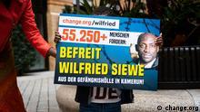 Deutschland/Kamerun Aktion Befreit Wilfried Siewe