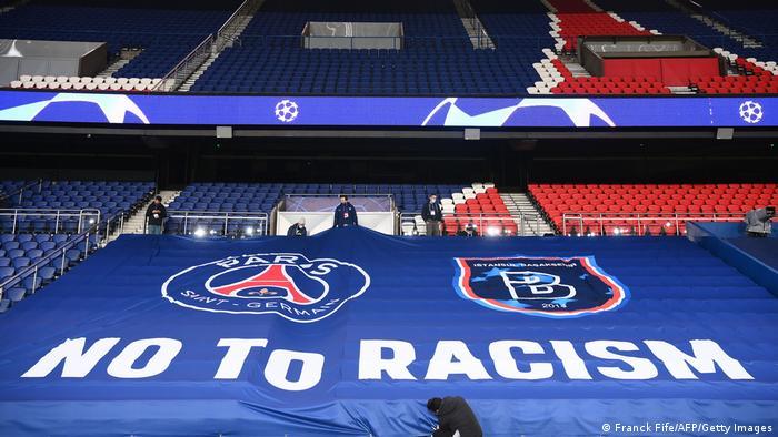 NE rasizmu - jasna poruka na stadionu u nastavku utakmice u srijedu
