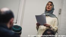 Frankreich 1. weiblicher Imam Kahina Bahloul, Imam