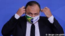 Brasilien Corona l Gesundheitsminister Eduardo Pazuello